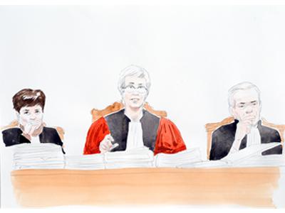 pr 233 sident et assesseurs les acteurs la justice traits de justice